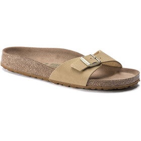 Birkenstock Madrid Sandals Birko-Flor Earthy Vegan Narrow Women, latte cream